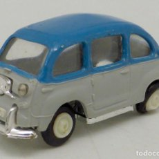 Coches a escala: SEAT 600 ANGUPLAS MINI CARS Nº 46 MADE IN SPAIN 1/86 AÑOS 60. Lote 106926191