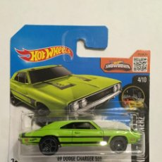 Carros em escala: HOT WHEELS 69 DODGE CHARGER 500. Lote 107793559