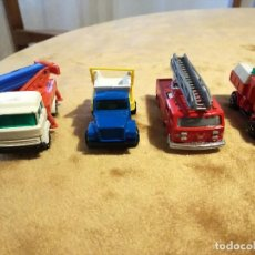 Coches a escala: CAMIONES CAMION METAL BOMBEROS MAJORETTE MAGIRUS VOLVO GUISVAL. Lote 108276211