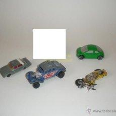 Coches a escala: MATCHBOX DIE-CAST - LOTE 4X COCHES Y OTROS VEHÍCULOS. Lote 40741520