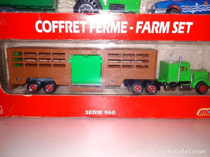 Coches a escala: MAJORETTE TRANSPORTS SERIE 960 964 GRANJA COFFRET FERME FARM SET - Foto 4 - 108761655