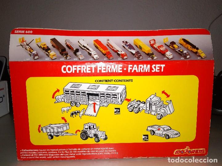Coches a escala: MAJORETTE TRANSPORTS SERIE 960 964 GRANJA COFFRET FERME FARM SET - Foto 5 - 108761655
