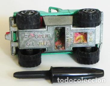 Coches a escala: JEEP MAJORETTE 4X4 - COCHE A ESCALA - DE METAL - FABRICADO EN FRANCIA - Nº 244 - COCHECITO - JUGUETE - Foto 3 - 110024543
