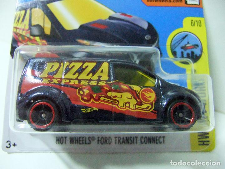 ford transit connect pizza express hot wheels kaufen. Black Bedroom Furniture Sets. Home Design Ideas