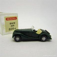 Coches a escala: WIKING 82812 BMW 328 CABRIO (1937) VERDE ESCALA 1/87 (1165) . Lote 112030327