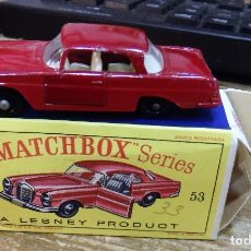 Coches a escala: MATCHBOX 53 MERCEDES BENZ COUPE COCHE METAL MODEL CAR MINIATURA 1/64. Lote 112205651
