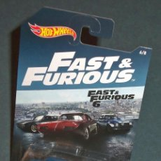 Coches a escala: COCHE FORD ESCORT RS1600 FAST & FURIOUS - HOT WHEELS 1/64. Lote 277740333