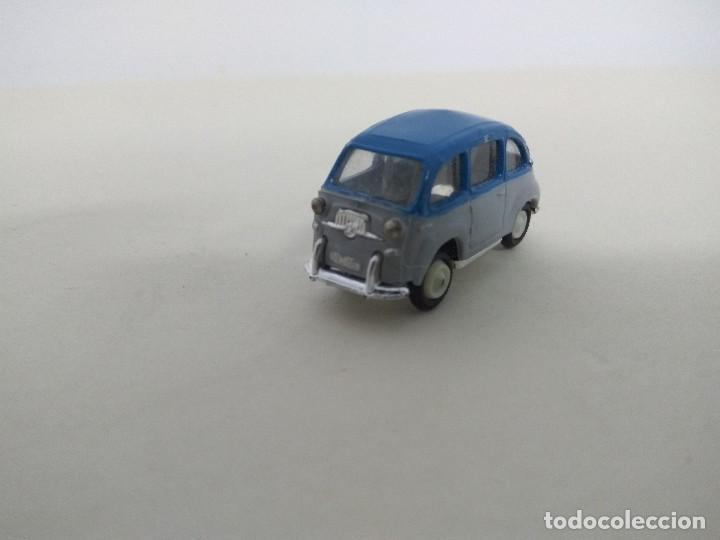ANGUPLAS MINI CARS - SEAT 600 MULTIPLE BICOLOR GRIS AZUL (Juguetes - Coches a Escala Otras Escalas )