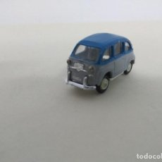 Coches a escala: ANGUPLAS MINI CARS - SEAT 600 MULTIPLE BICOLOR GRIS AZUL. Lote 112826315