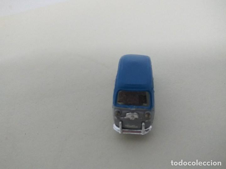 Coches a escala: ANGUPLAS MINI CARS - SEAT 600 MULTIPLE BICOLOR GRIS AZUL - Foto 3 - 112826315