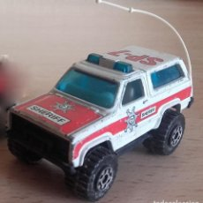 Coches a escala: MATCHBOX 4X4 CHEVY BLAZER 1983 MADE IN MACAU DIE CAST IN NORMAL CONDITION. Lote 182548297
