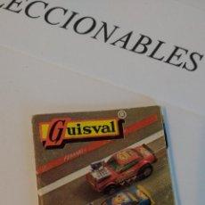 Coches a escala: GUISVAL FERRARI 76 SERIE ESCORPION MINIATURAS DE METAL CATALOGO COCHES AÑO 76 ORIGINAL. Lote 113323171