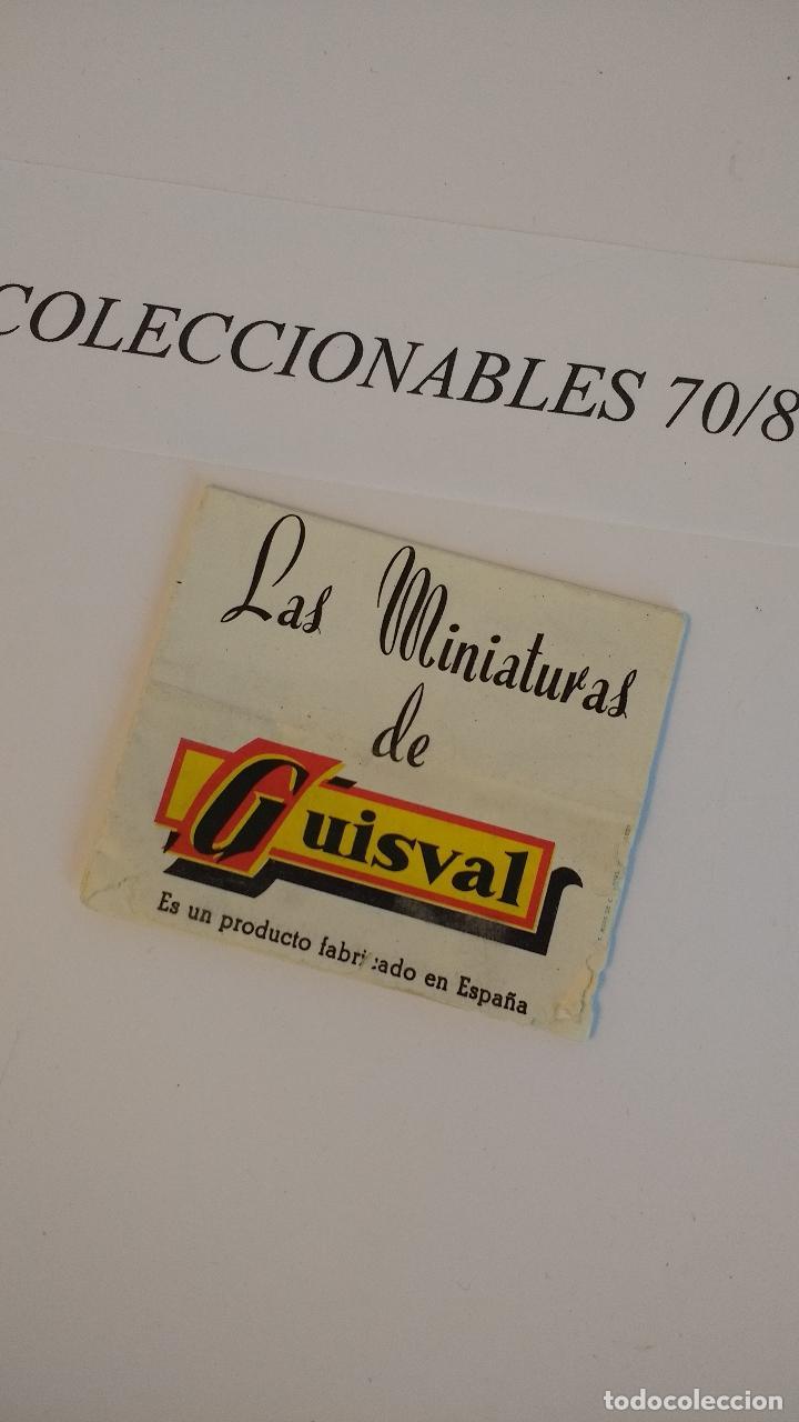 LAS MINIATURAS DE GUISVAL CATALOGO COCHES CLÁSICOS ANTIGUOS ESCALA 1/43 ORIGINALES (Juguetes - Coches a Escala Otras Escalas )