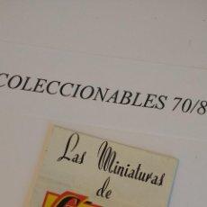 Coches a escala: LAS MINIATURAS DE GUISVAL CATALOGO COCHES CLÁSICOS ANTIGUOS ESCALA 1/43 ORIGINALES. Lote 113323479