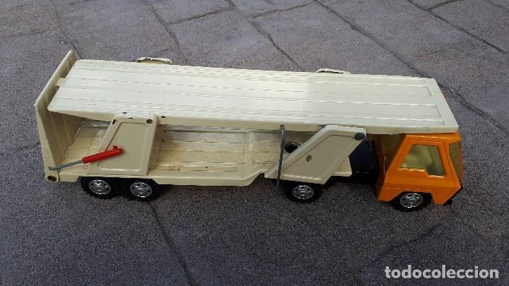 Coches a escala: Camión COLOSO GOZÁN hojalata finales de los años 70 & principios de los 80 made in Spain - Foto 4 - 114350875