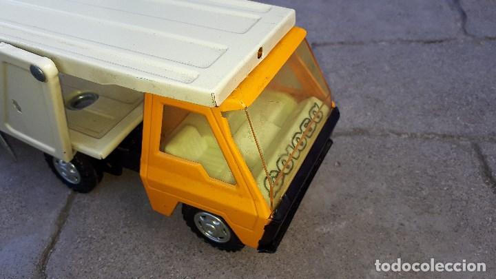 Coches a escala: Camión COLOSO GOZÁN hojalata finales de los años 70 & principios de los 80 made in Spain - Foto 7 - 114350875