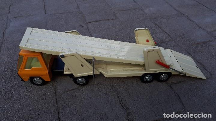Coches a escala: Camión COLOSO GOZÁN hojalata finales de los años 70 & principios de los 80 made in Spain - Foto 8 - 114350875