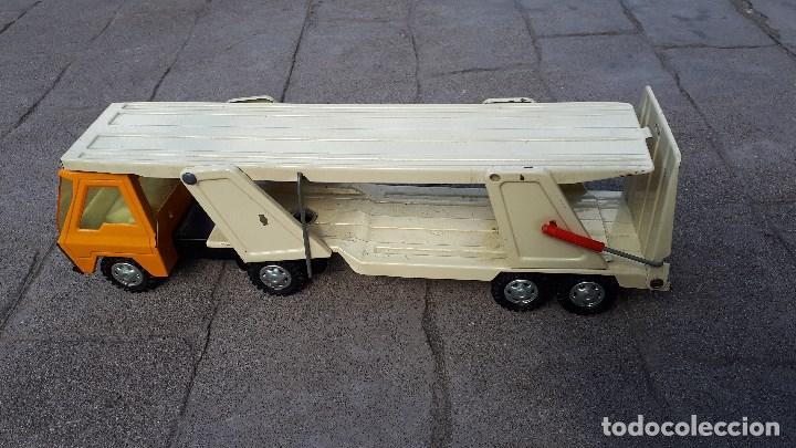 Coches a escala: Camión COLOSO GOZÁN hojalata finales de los años 70 & principios de los 80 made in Spain - Foto 2 - 114350875