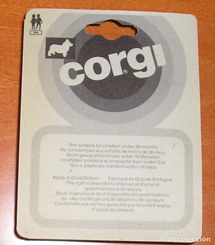 Coches a escala: FURGONETA A ESCALA CORGI REF. 117 DEL MUNDIAL DE FUTBOL 1982 NARANJITO - Foto 2 - 115536618