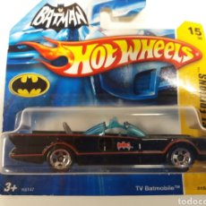 Coches a escala: HOT WHEELS 2007 TV BATMOBILE , FIRST EDITIONS. Lote 114930562