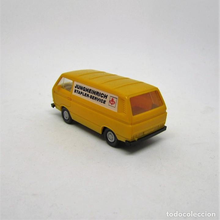 Coches a escala: Wiking 290 11 VW BULLY TRANSPORTER T3 Furgoneta escala 1/87 H0 (1341) - Foto 6 - 115886267