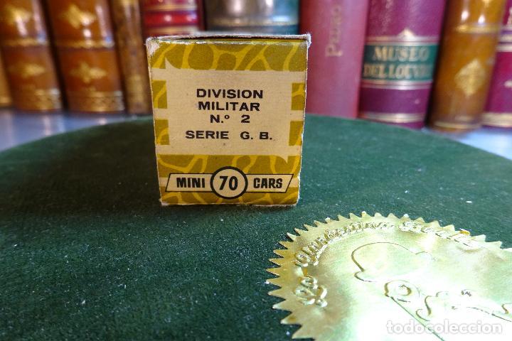 Coches a escala: TANQUE MARK III CENTURION - MINI CARS 70 - DIVISION MILITAR - Nº2 - SERIE G.B - ANGUPLAS - Foto 3 - 116420151
