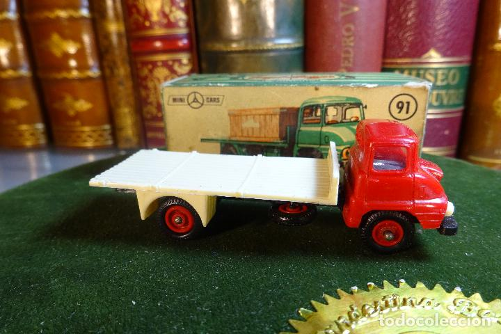 Coches a escala: CAMION FORD THAMES - MINI CARS 91 - DIVISION TRANSPORTES - Nº24 - SERIE G.B - ANGUPLAS - Foto 1 - 116420735