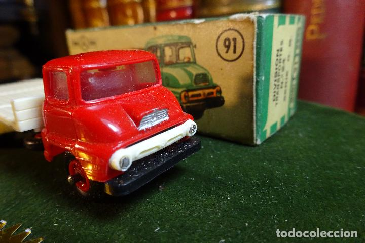 Coches a escala: CAMION FORD THAMES - MINI CARS 91 - DIVISION TRANSPORTES - Nº24 - SERIE G.B - ANGUPLAS - Foto 5 - 116420735