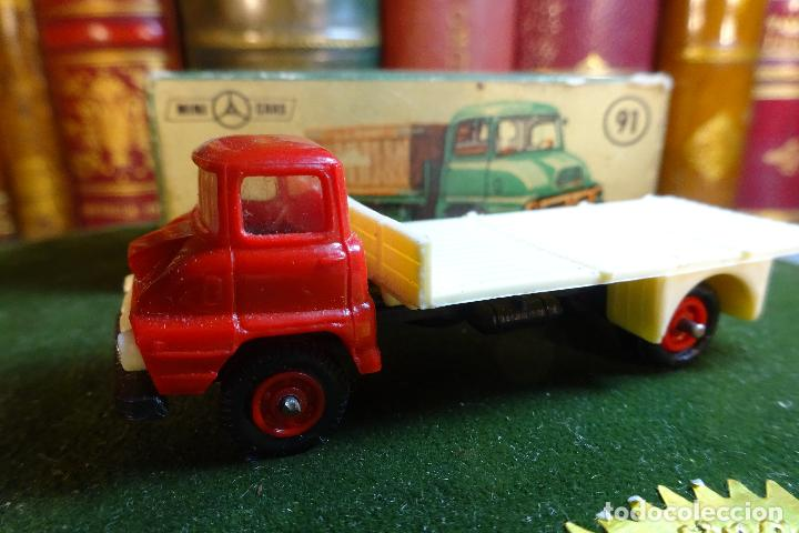 Coches a escala: CAMION FORD THAMES - MINI CARS 91 - DIVISION TRANSPORTES - Nº24 - SERIE G.B - ANGUPLAS - Foto 6 - 116420735