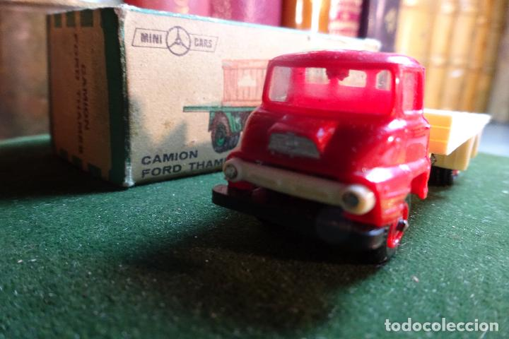 Coches a escala: CAMION FORD THAMES - MINI CARS 91 - DIVISION TRANSPORTES - Nº24 - SERIE G.B - ANGUPLAS - Foto 7 - 116420735
