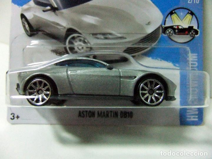 Aston Martin Db10 James Bond Agente 007 Spectre Hot Wheels Mattel Hw Showroom 2016 Esc 1 64 Coche