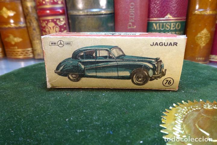 Coches a escala: JAGUAR - MINI CARS 76 - DIVISION TURISMO - Nº22 - SERIE GB - ANGUPLAS - Foto 2 - 116509079