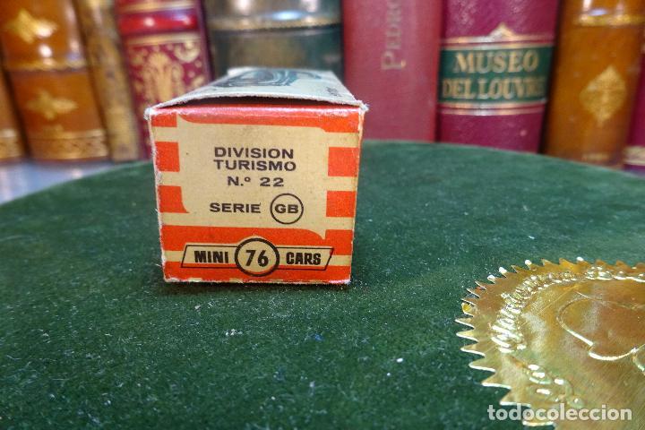 Coches a escala: JAGUAR - MINI CARS 76 - DIVISION TURISMO - Nº22 - SERIE GB - ANGUPLAS - Foto 3 - 116509079