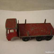 Coches a escala: CAMION MADE IN ENGLAND BY LESNEY MATCHBOX SERIES N 10 PIPE TRUCK. Lote 116594863
