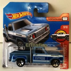 Coches a escala: HOT WHEELS DODGE RED EXPRESS TRUCK 1978 1:64 HOTWHEELS 2017. Lote 115088495