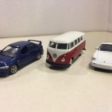 Coches a escala: LOTE 3 VEHICULOS WELLY 1/60. Lote 117113083