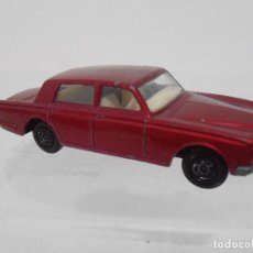Coches a escala: COHE MATCHBOX ROLLS ROYCE SILVER SHADOW Nº24, MADE IN ENGLAND. . Lote 117975367