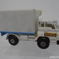 Coches a escala: CAMION BARREIROS 42/38T, GUILOY ESC 1/66, MADE IN SPAIN. Lote 118238411