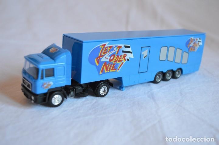 Coches a escala: Camión con semirremolque Man LKW F90. Esc. 1/87. Albedo. romanjuguetesymas. - Foto 6 - 118810679