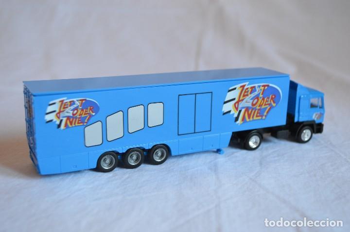 Coches a escala: Camión con semirremolque Man LKW F90. Esc. 1/87. Albedo. romanjuguetesymas. - Foto 9 - 118810679