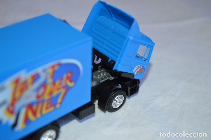 Coches a escala: Camión con semirremolque Man LKW F90. Esc. 1/87. Albedo. romanjuguetesymas. - Foto 10 - 118810679