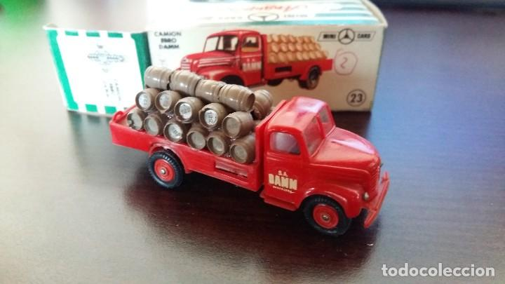 Coches a escala: ANGUPLAS MINI CARS MINI CARS. camion ebro damm - Foto 2 - 119446931