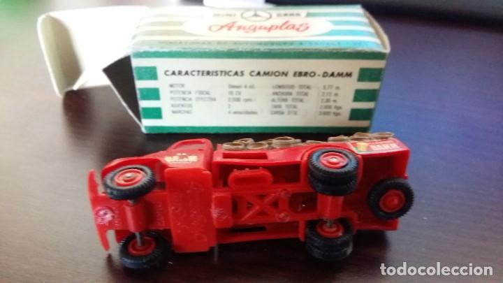 Coches a escala: ANGUPLAS MINI CARS MINI CARS. camion ebro damm - Foto 3 - 119446931