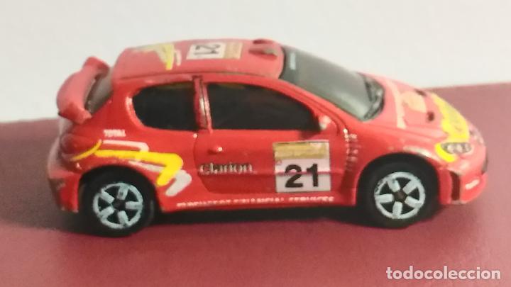 Coches a escala: COCHE MINIATURA. MAJORETTE. PEUGEOT 206 WRC. RALLY - Foto 4 - 120373103