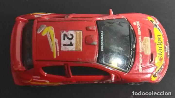 Coches a escala: COCHE MINIATURA. MAJORETTE. PEUGEOT 206 WRC. RALLY - Foto 6 - 120373103