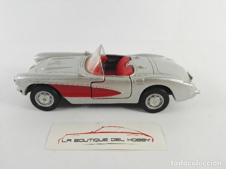 Coches a escala: CHEVROLET CORVETTE 1957 MAISTO ESCALA 1:39 - Foto 1 - 121158667