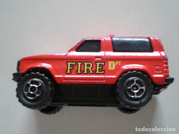 Coches a escala: SONIC FLASHERS MAJORETTE CAMIONETA FIRE DPT RESCUE - Foto 3 - 121504959