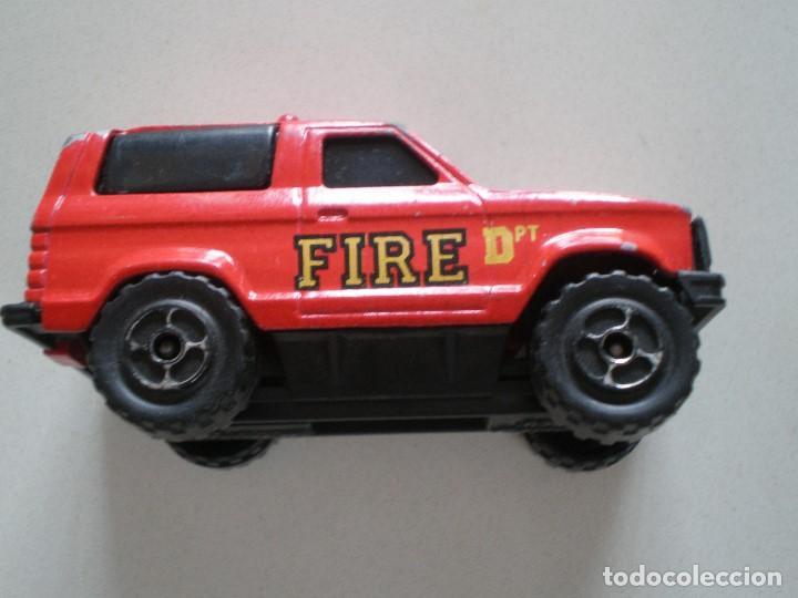 Coches a escala: SONIC FLASHERS MAJORETTE CAMIONETA FIRE DPT RESCUE - Foto 4 - 121504959