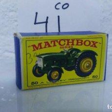 Coches a escala: ANTIGUO COCHE EN CAJA ORIGINAL MATCHBOX TRACTOR Nº 50. Lote 121612259