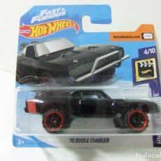 Coches a escala: ´70 DODGE CHARGER 1970 - HOT WHEELS MATTEL FAST & FURIOUS HW SCREEN TIME - ESCALA 1:64 - COCHE. Lote 122454607